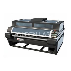 Çift Kafalı Deri Lazerli Kesme Makinesi