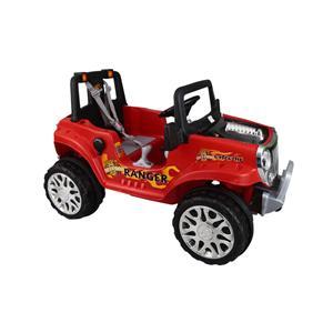 Kırmızı Ranger Akülü Araba 12V 12A Kumandalı