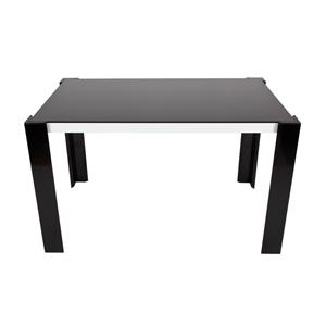 Siyah Yemek Masası