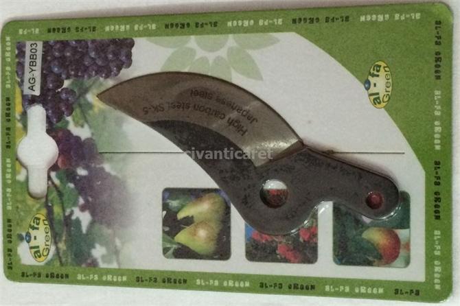 48202-AL FA GREEN  Bağ Makası Yedek Bıçak AG-YBB03-Civan Ticaret Makina ve Teknik Hırdavat