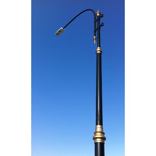 20073-Genova Dekoratif Aydınlatma Direkleri-Deniz Makina Elk. İnş. Yapı Sistemleri