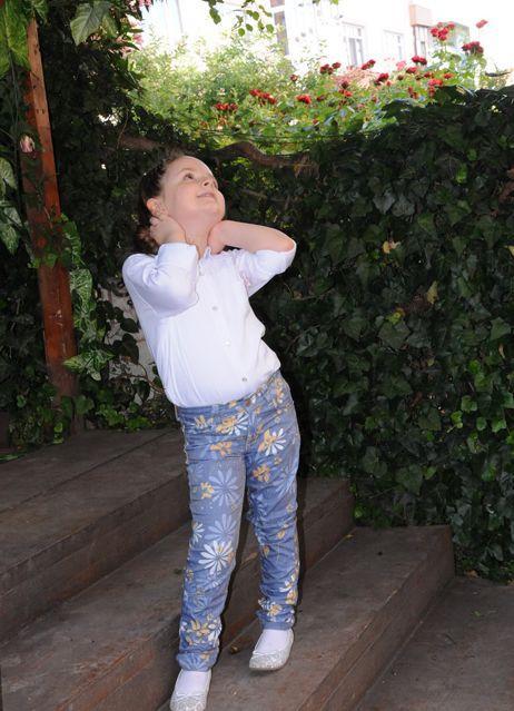 11985-Gömlek ve Pantolon Kız Çocuk Takımı-Özk Kids Fashion - Özkan Çocuk Giyim San. ve Tic. Ltd. Şti.