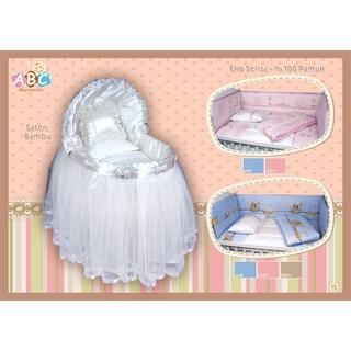 12433-Eko Bambu Beşik-ABC Tekstil
