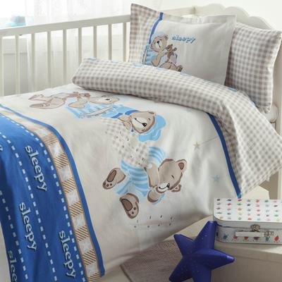 51221-Kutulu Bebek Nevresim Takımı-ÖZDİLEK Alışveriş Merkezleri ve Tekstil San. A.Ş.