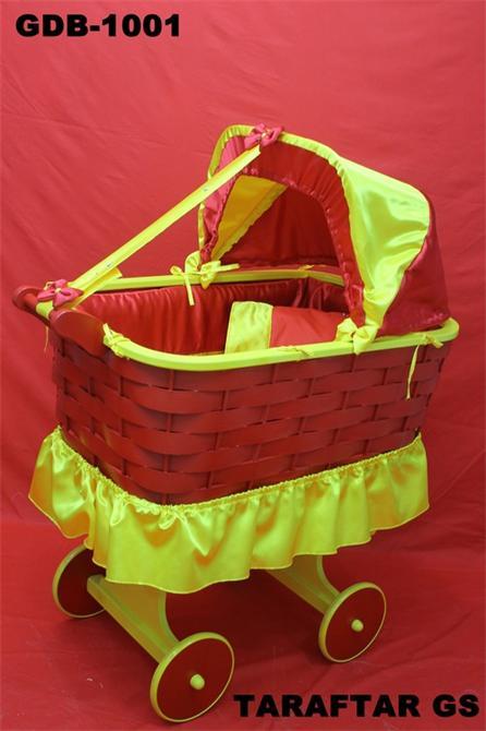 29392-Sarı Kırmızı Taraftar Beşik-Gürdamar Bebe