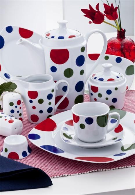 23135-Porselen Kahvaltı Takımı-Nüans - Gültekin Porselen İç ve Dış Ticaret Ltd. Şti.-
