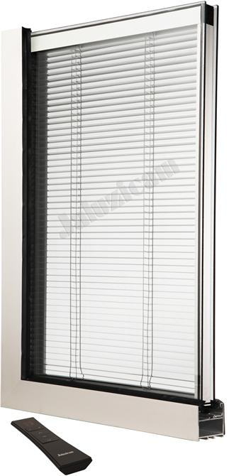 20817-Between the insulated double glass blinds - internal motor system-Jaluzi Cam San. ve Tic. Ltd. Sti.