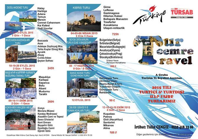 172416-Yurtiçi Tur-Tur Cemre Travel Turizm Seyahat Nakliyat San. ve Tic. Ltd. Şti.