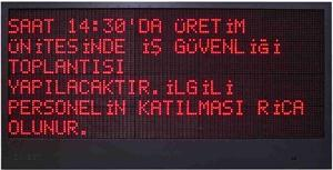 Led Announcement Board