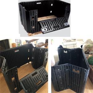 Foldable HDPE Box for fruit transportation