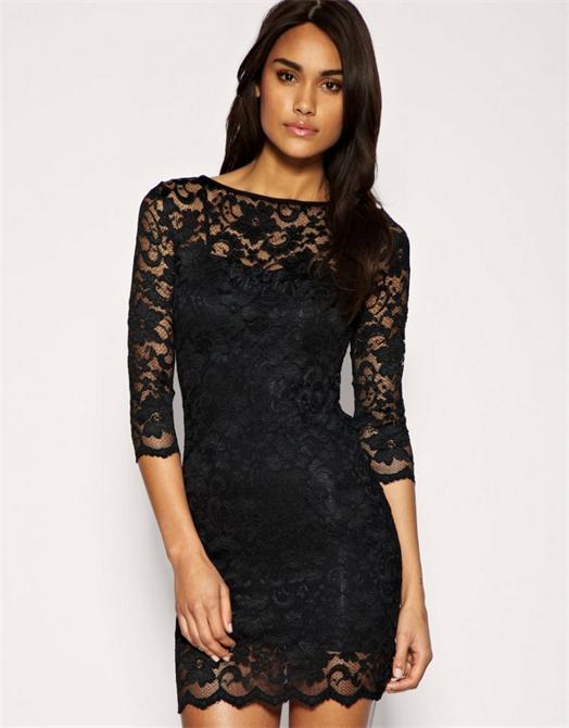 Платье гипюровое с кружевом