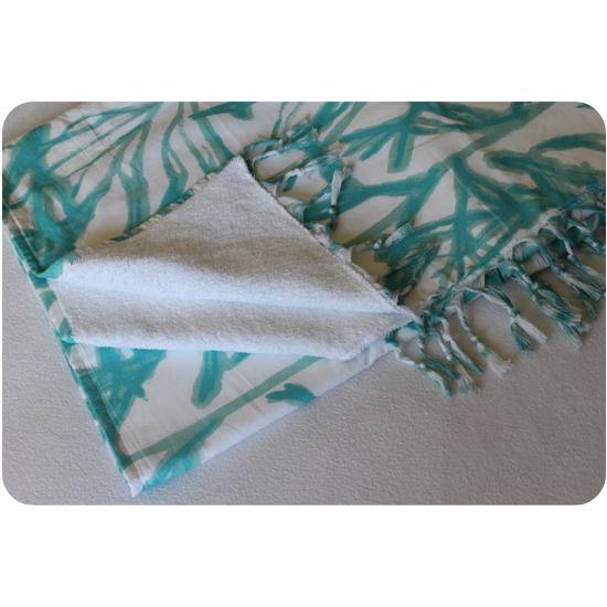 Double Face Technology Towel: Double-sided Cotton And Towels Peshtemal