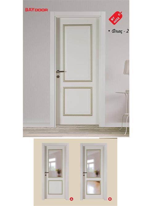 198871 BY 4032 DIAMOND SERIES WOODEN PAINTED INNER DOOR Baydoor   Motif  Decoration