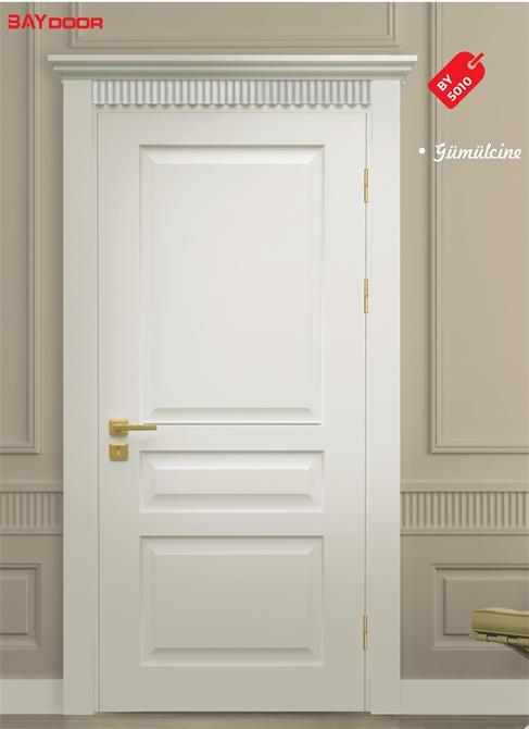 198838 BY 5010 PLATINUM SERIES WOODEN PAINTED INNER DOOR Baydoor   Motif  Decoration
