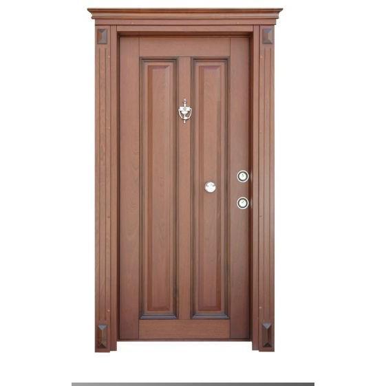 12807-Elegance series walnut door-Timedor Celik Kapi Ins. Ith. Ihr. San. Tic. Ltd. Sti.