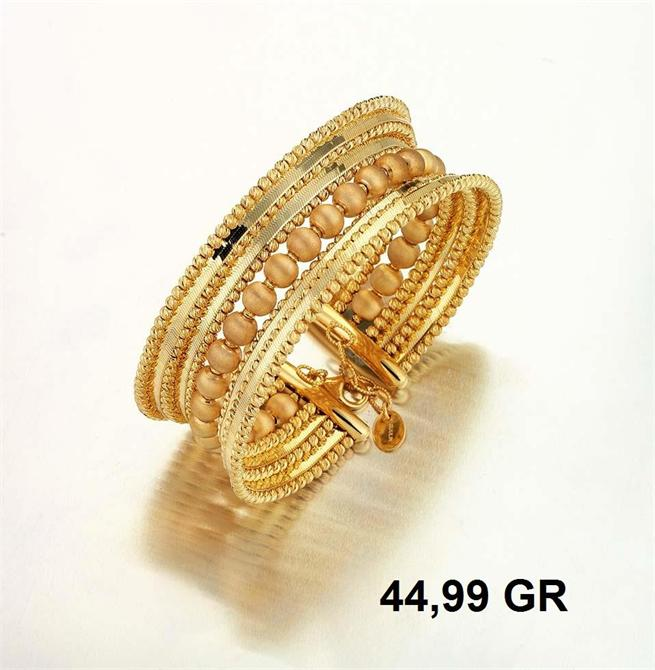 216284-18K Gold Bracelet-Rinel Import-Export Co