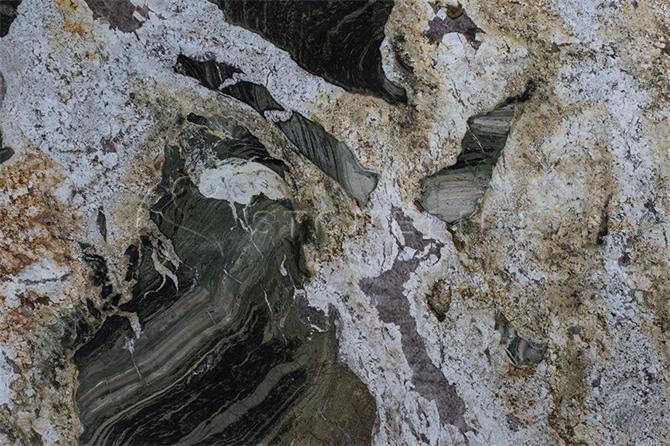 201326-VERDE TROPICALE Granite Green Color Natural Stone-Stoneline