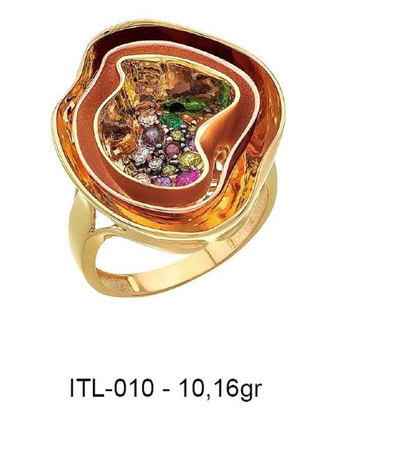 216157-14K gold ring-Rinel Import-Export Co