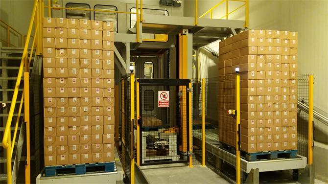 216066-Inpal 150M Palletizing System (Multipalletizer)-Inka Makina San. ve Tic. A.S