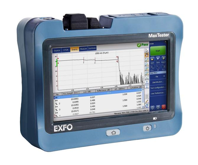 198056-EXFO | MaxTester 720C - access OTDR-Fotech Fiber Optik Teknolojik Hizmetler San. ve Tic. Ltd. Şti.