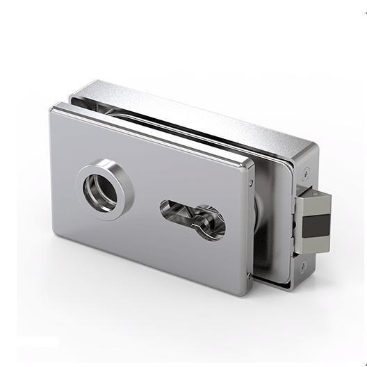 210187-683WSC Glass Door Lock-BM Glass Hardware