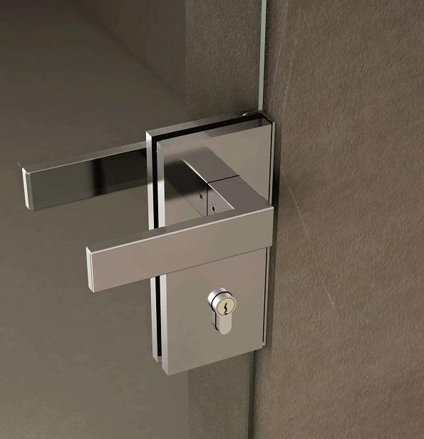 213792-Italian Design Vertical Door Lock-BM Glass Hardware