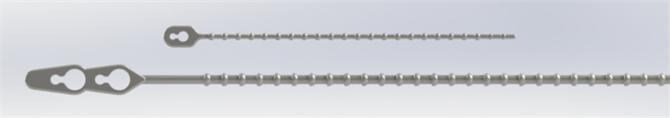 216491-Beaded Cable Clamp-Pemsan Elektrik-Elektronik San. ve Tic. A.S.