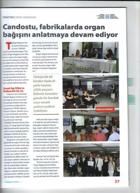 67958-Decade in Mechanical Industry Press-Dekat Makina Sanayi ve Ticaret. Ltd. Sti.