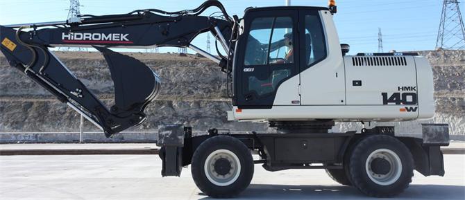 9722-Wheel excavator-Hidromek A.S.