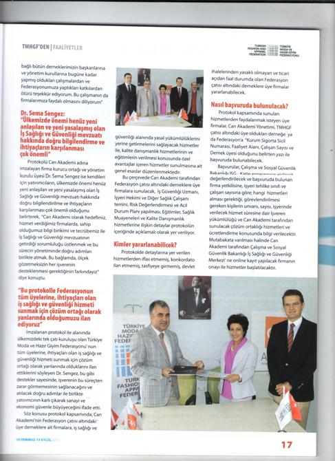 67968-Decade in Mechanical Industry Press-Dekat Makina Sanayi ve Ticaret. Ltd. Sti.