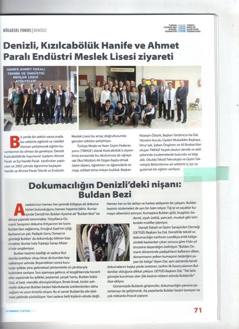 67964-Decade in Mechanical Industry Press-Dekat Makina Sanayi ve Ticaret. Ltd. Sti.