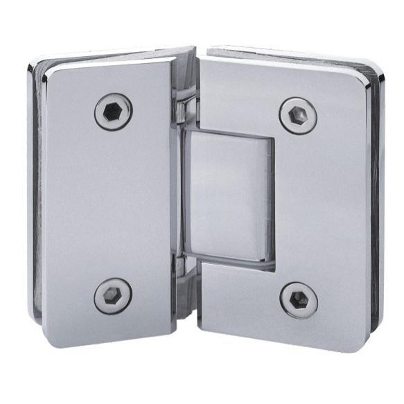 210181-BM-DM602-135-CH Shower Hinge - Chrome-BM Glass Hardware