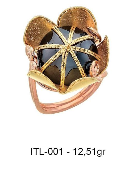 216087-14K gold ring-Rinel Import-Export Co