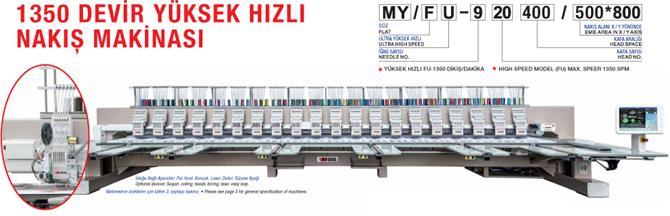 211841-High Speed Embroidery Machine-Dekat Makina Sanayi ve Ticaret. Ltd. Sti.