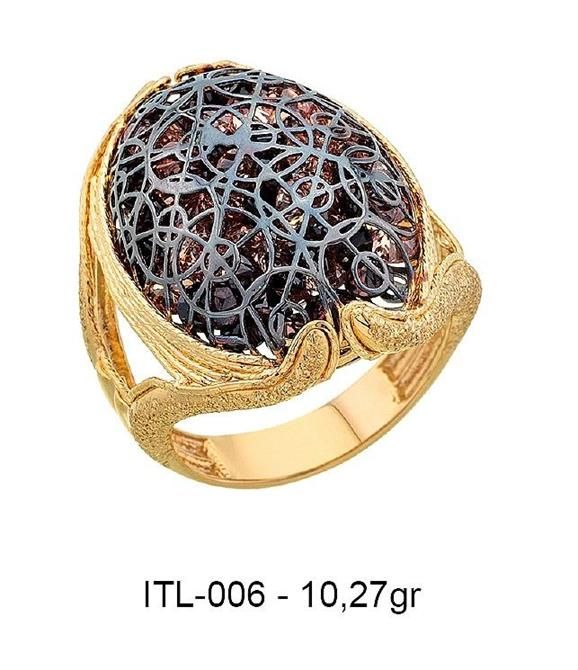 216148-14K gold ring-Rinel Import-Export Co