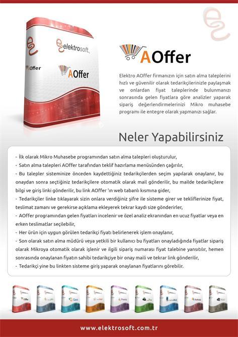 34291-Bid management system-Elektrosoft Bilisim Sistem Yazilim ve Otomasyon San. Tic. Ltd. Sti.