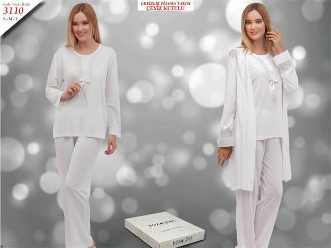 215284-Dowry Pajama Set-Kozaluks Tekstil San. ve Tic. Ltd. Sti.