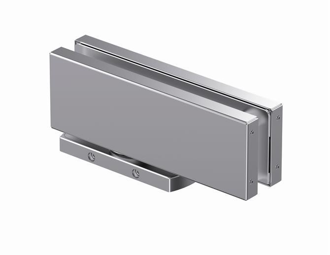 210057-Unica 101E10 Hydraulic Pivot Hinge-BM Glass Hardware