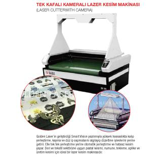 211857-Single Head Camera Laser Cutting Machine-Dekat Makina Sanayi ve Ticaret. Ltd. Sti.