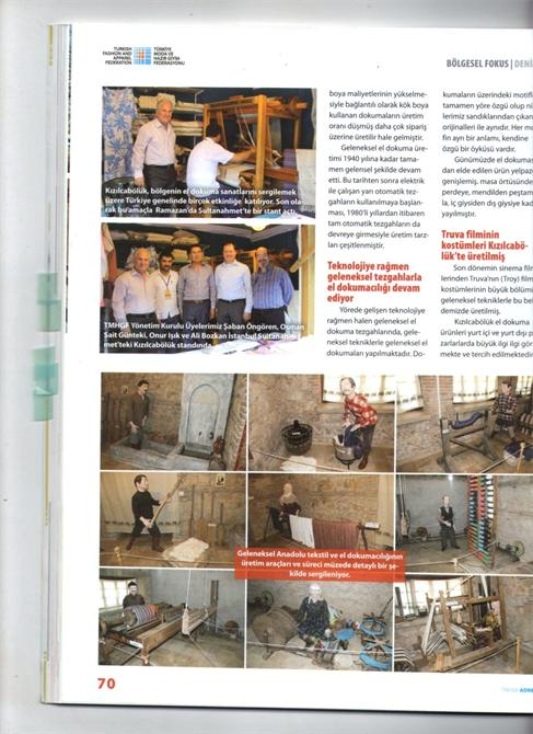 67963-Decade in Mechanical Industry Press-Dekat Makina Sanayi ve Ticaret. Ltd. Sti.