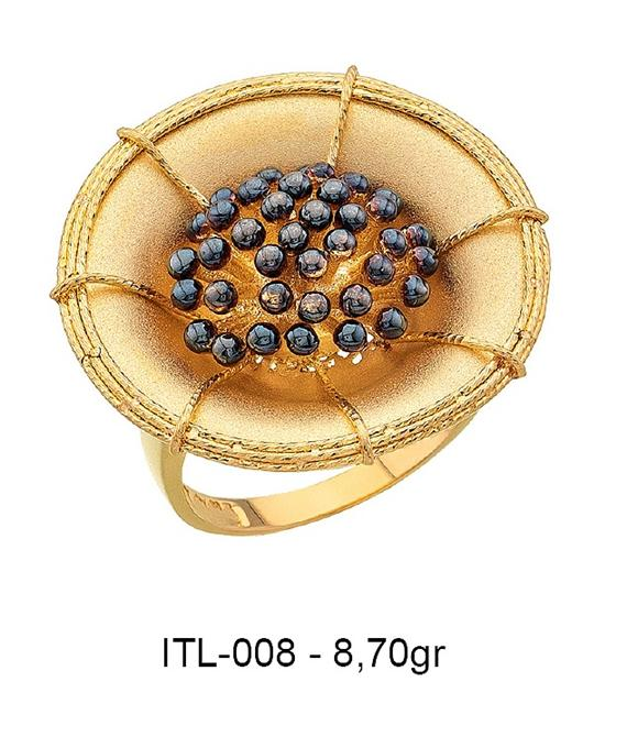 216152-14K gold ring-Rinel Import-Export Co