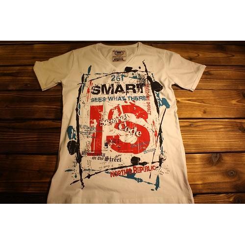 19184-NRT screen printing t-shirt 017-NORTH'S REPUBLIC