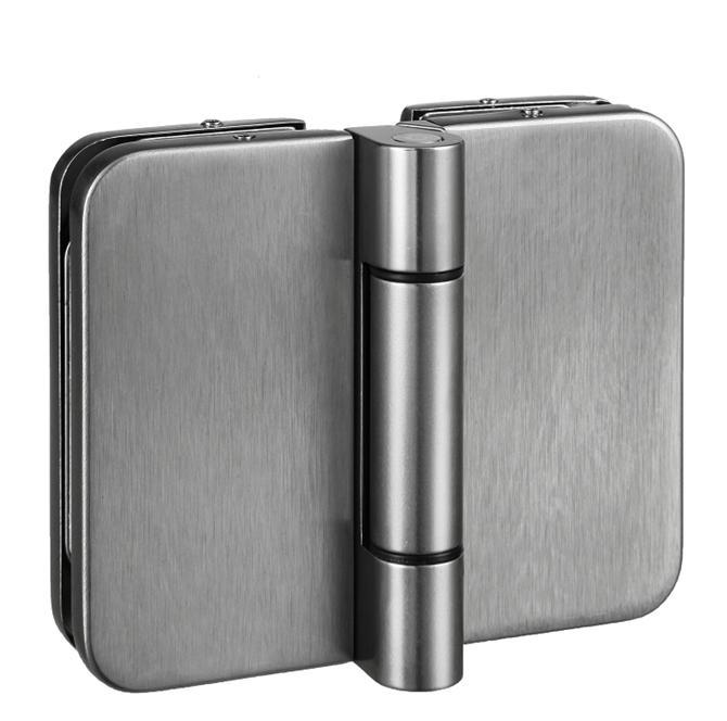 210072-BM-9015 Glass Door Hinge - Glass to Glass-BM Glass Hardware