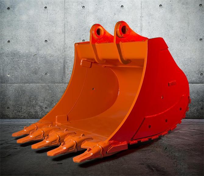 45488-Backhoe excavator rock bucket-Om Muhendislik Makina San. ve Tic. Ltd. Sti.