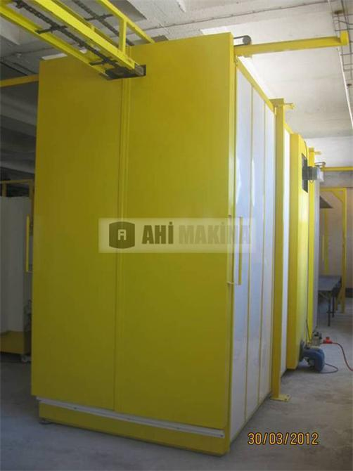 194146-Powder Coating Furnace-Ahi Kalip Ve Makina Sanayi Tic. Ltd. Sti.