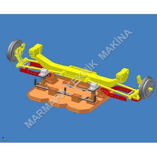 55757-Rear suspension mounting fixture-Marmara Teknik Makina Insaat Sanayi Tic. Ltd. Sti.