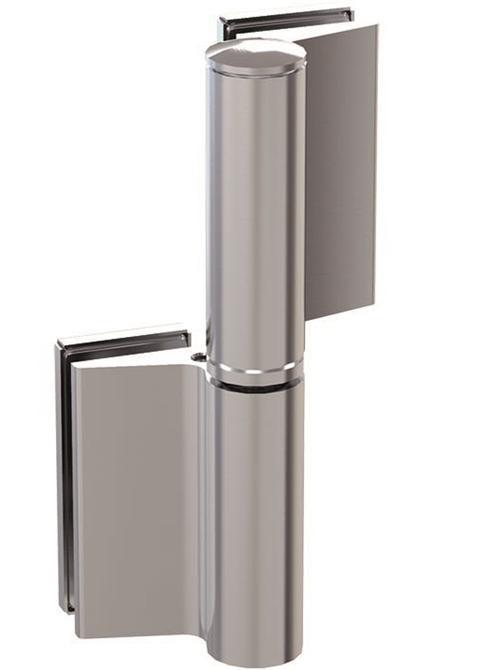 210043-Evo Hydraulic Hinge - Door Closer - Glass to Glass-BM Glass Hardware
