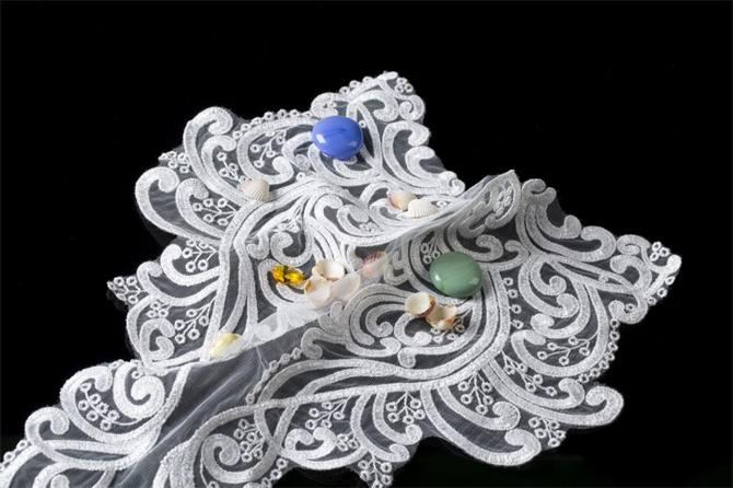 214969-Dal Patterned Collar Lace-Karadeniz Brode Mefrusat Tekstil Ith.Ihr.Ltd Sti