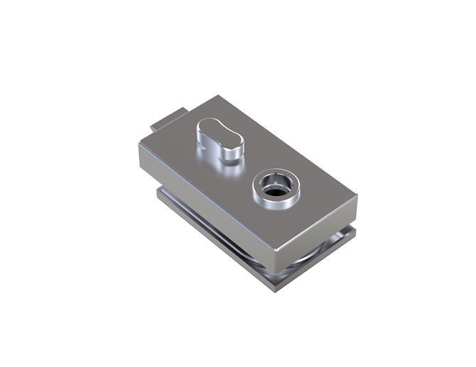 210209-BM-7050 WC Lock-BM Glass Hardware