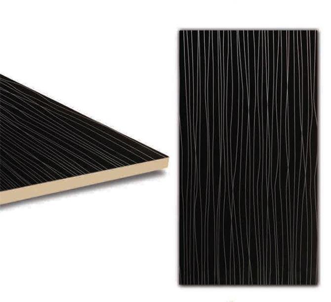 216580-Glossy Black Panel - PVC-Kocsan Ahsap Profil Mobilya ve Ins. San. Tic. Ltd. Sti.